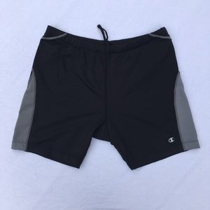 Champion girls' athletic shorts, size XL